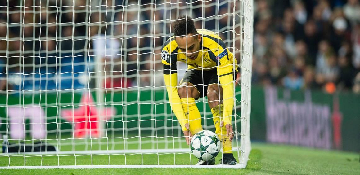 Auba o readuce pe Borussia în joc într-un moment în care păream să fi pierdut orice șansă la primul loc.